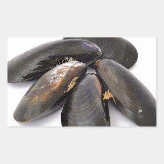 Mussel Rectangular Sticker