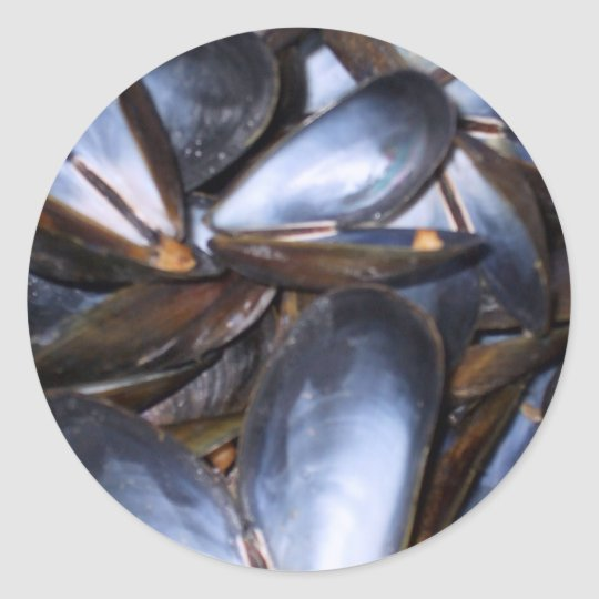 Mussel Shells Sticker