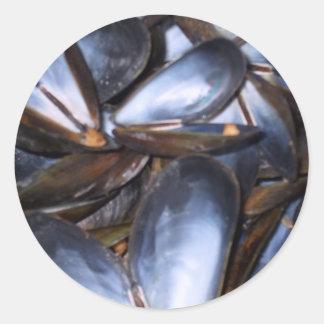 Mussel Shells Sticker Sticker