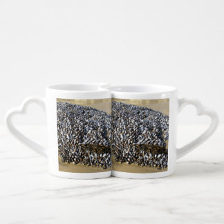 Mussels At The Cove Couples Coffee Mug