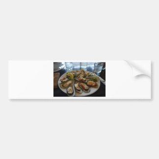 Mussels Bumper Sticker