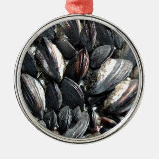 Mussels Metal Ornament