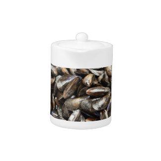 Mussels Teapot