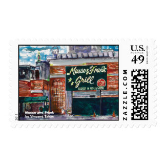 Musso and Frank Postage