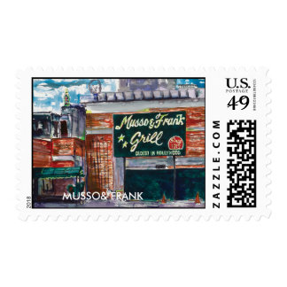 MUSSO& FRANK POSTAGE