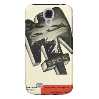 Mussolini Propaganda Samsung Galaxy S4 Case