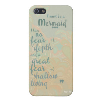 Must be a Mermaid iPhone SE/5/5s Case