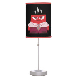 Table Lamp with Must ... Control ... Anger! from Inside Out design