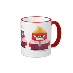 Must...Control...Anger... Ringer Coffee Mug