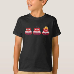 Kids' Hanes TAGLESS® T-Shirt with Must ... Control ... Anger! from Inside Out design