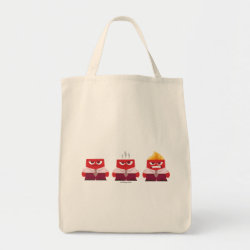 Grocery Tote with Must ... Control ... Anger! from Inside Out design
