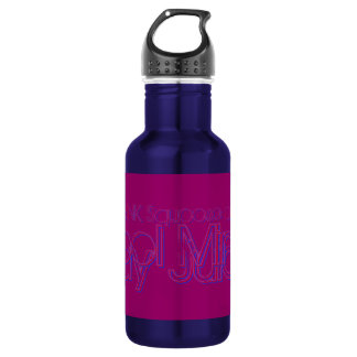 MUST DRINK Squoose and Mirrel LB Stainless Steel Water Bottle