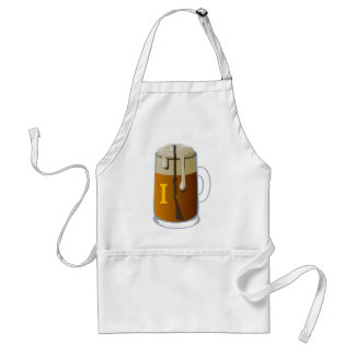 MUST GET BEER ADULT APRON