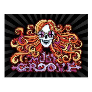 Must Groove Postcard