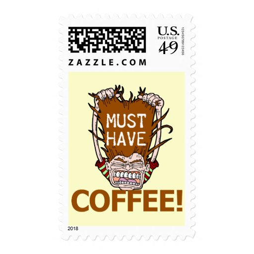 Must Have Coffee Postage