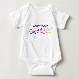 Must Have Cookies! Baby Bodysuit