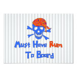 Must Have Rum 5x7 Paper Invitation Card
