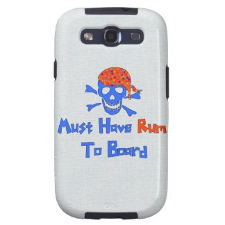 Must Have Rum Galaxy SIII Cases