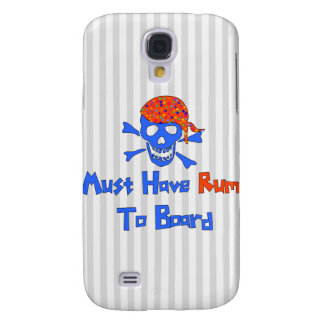 Must Have Rum Galaxy S4 Cases