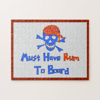 Must Have Rum Jigsaw Puzzle