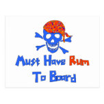 Must Have Rum Postcard