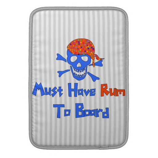 Must Have Rum Sleeve For MacBook Air