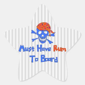 Must Have Rum Star Sticker