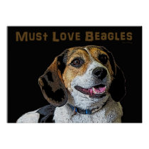 Must Love Beagles- Trudy Poster