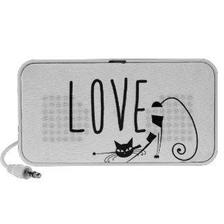 Must love cats portable speaker