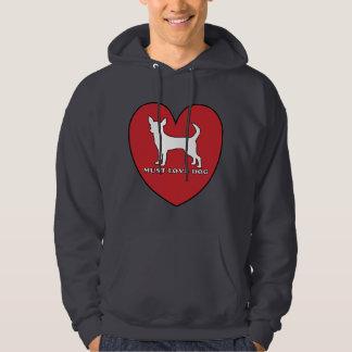 must love dog hoodie