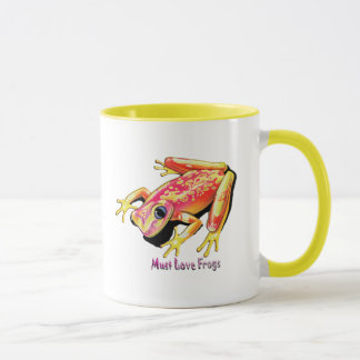 Must Love Frogs Mug