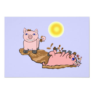 Must Love Pigs Card