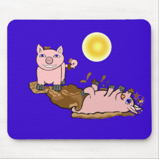 Must Love Pigs Mouse Pad