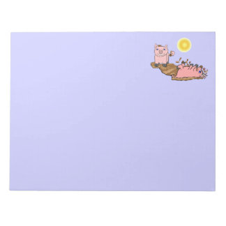 Must Love Pigs Notepad
