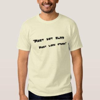 """must not sleep must warn others - Aesop rock T-Shirt"