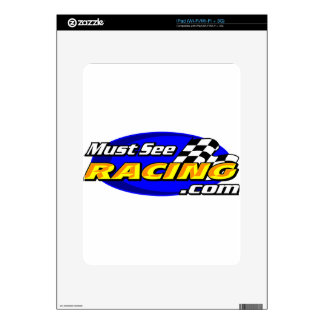 Must See Racing Decals For iPad