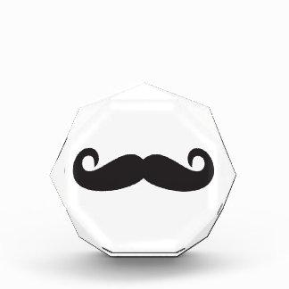 Mustache Acrylic Award