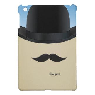 Mustache And Bowler Retro  iPad Mini Case