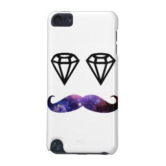 Mustache and diamonds iPod touch 5G cover