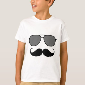 mustache and glasses T-Shirt