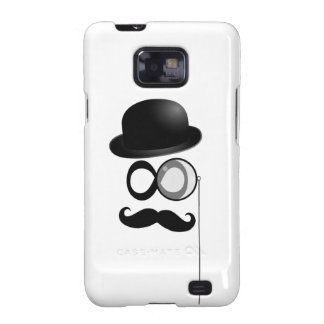 mustache and monocle man samsung galaxy s2 cases