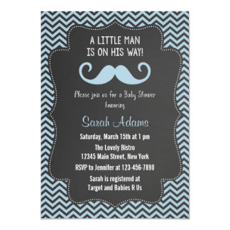 mustache baby shower invitations  announcements  zazzle, Baby shower invitations