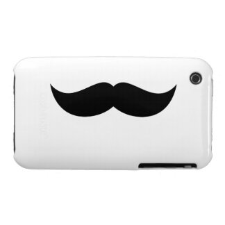 Mustache Barely There™ iPhone 3G/3G Case