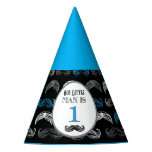 Mustache Bash - Baby Shower - Little Man - Party Party Hat
