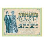 Mustache Bash Bridal Shower Invitation