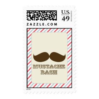 mustache bash stamp