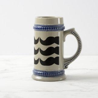 Mustache Beer Stein