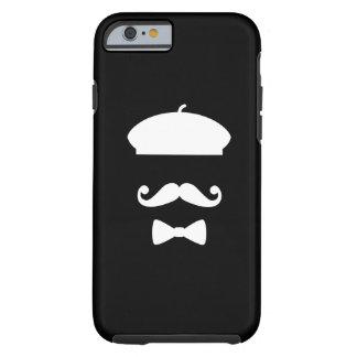 Mustache & Beret Pictogram iPhone 6 Case