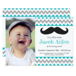 Mustache Birthday Invitation | Little Man