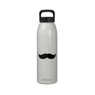 Mustache Bottle Drinking Bottles